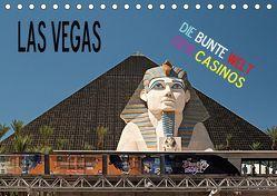 Las Vegas – Die bunte Welt der Casinos (Tischkalender 2019 DIN A5 quer) von Hallweger,  Christian