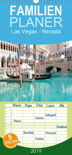 Las Vegas – Nevada – Familienplaner hoch (Wandkalender 2019 , 21 cm x 45 cm, hoch) von Lantzsch,  Katrin