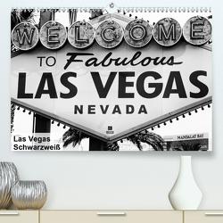 Las Vegas – Schwarzweiß (Premium, hochwertiger DIN A2 Wandkalender 2021, Kunstdruck in Hochglanz) von Lutz,  Bernd
