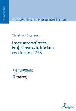 Laserunterstütztes Projizierstreckdrücken von Inconel 718 von Brummer,  Christoph