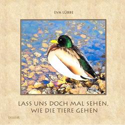 Lass uns doch mal sehen, wie die Tiere gehen – Ein farbiges Bilderbuch für Kinder von DeBehr,  Verlag, Lübbe,  Eva