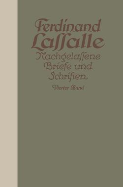 Lassalles Briefwechsel mit Gräfin Sophie von Hatƶfeldt von Lassalle,  Ferdinand, Mayer,  Gustav