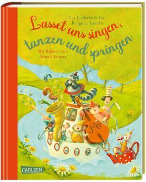 Lasset uns singen, tanzen und springen von Andersen,  Wiebke, Kunert,  Almud