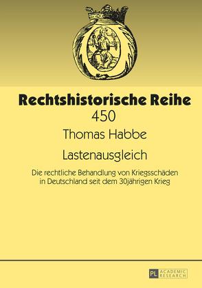 Lastenausgleich von Habbe,  Thomas