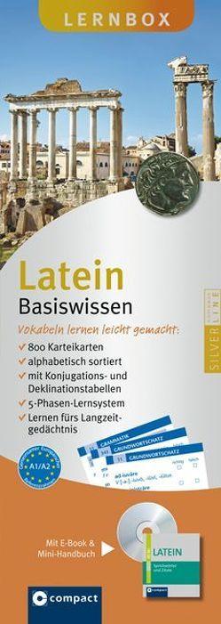 Latein Basiswissen (Grundwortschatz und Grammatik) – Compact Lernbox von J. Müller,  Bernhard