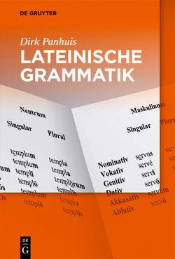 Lateinische Grammatik von Hoffmann,  Roland, Panhuis,  Dirk