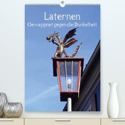 Laternen – Gewappnet gegen die Dunkelheit (Premium, hochwertiger DIN A2 Wandkalender 2021, Kunstdruck in Hochglanz) von Andersen,  Ilona