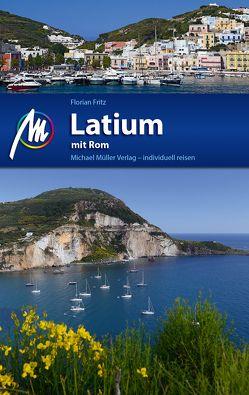 Latium mit Rom Reiseführer Michael Müller Verlag von Fritz,  Florian