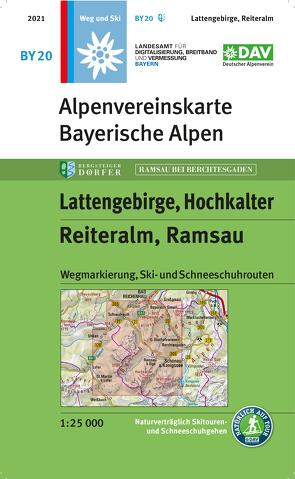 Lattengebirge, Reiteralm, Ramsau