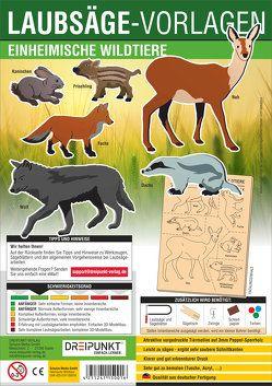 Laubsägevorlage Einheimische Wildtiere