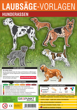Laubsägevorlage Hunderassen