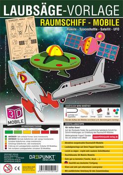Laubsägevorlage Raumschiff (Mobile)