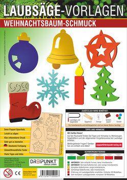 Laubsägevorlage Weihnachtsbaumschmuck