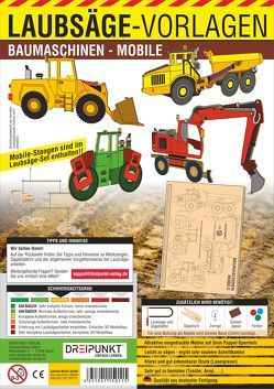 Laubsägevorlagen Baumaschinen (Mobile)