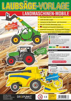 Laubsägevorlagen Landmaschinen (Mobile)