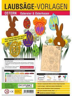 Laubsägevorlagen Ostern