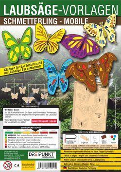 Laubsägevorlagen Schmetterling (Mobile)