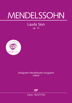 Lauda Sion (Klavierauszug) von Mendelssohn Bartholdy,  Felix