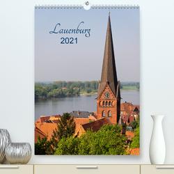 Lauenburg 2021 (Premium, hochwertiger DIN A2 Wandkalender 2021, Kunstdruck in Hochglanz) von Kolfenbach,  Klaus