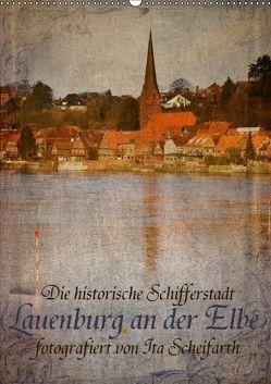 Lauenburg an der Elbe (Wandkalender 2018 DIN A2 hoch) von N.,  N.
