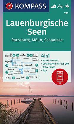 Lauenburgische Seen, Ratzeburg, Mölln, Schaalsee von KOMPASS-Karten GmbH