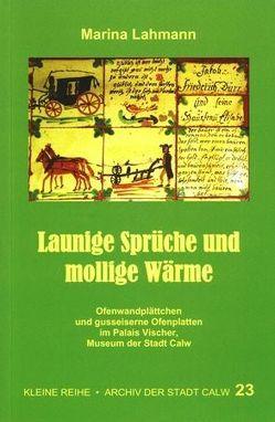 Launige Sprüche und mollige Wärme von Lahmann,  Marina