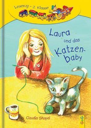 Laura und das Katzenbaby von Fahrnländer,  Beate, Skopal,  Claudia