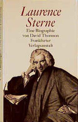 Laurence Sterne von Schütz,  Hans J., Thompson,  David