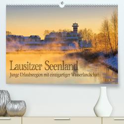 Lausitzer Seenland – Junge Urlaubsregion mit einzigartiger Wasserlandschaft (Premium, hochwertiger DIN A2 Wandkalender 2021, Kunstdruck in Hochglanz) von LianeM