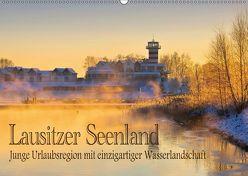 Lausitzer Seenland – Junge Urlaubsregion mit einzigartiger Wasserlandschaft (Wandkalender 2018 DIN A2 quer) von LianeM,  k.A.