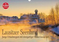 Lausitzer Seenland – Junge Urlaubsregion mit einzigartiger Wasserlandschaft (Wandkalender 2018 DIN A3 quer) von LianeM,  k.A.