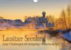 Lausitzer Seenland – Junge Urlaubsregion mit einzigartiger Wasserlandschaft (Wandkalender 2018 DIN A4 quer) von LianeM,  k.A.