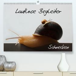 Lautlose Begleiter – Schnecken (Premium, hochwertiger DIN A2 Wandkalender 2021, Kunstdruck in Hochglanz) von Geiling,  Wibke