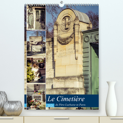 Le Cimetière du Père-Lachaise in Paris (Premium, hochwertiger DIN A2 Wandkalender 2021, Kunstdruck in Hochglanz) von Creutzburg,  Jürgen