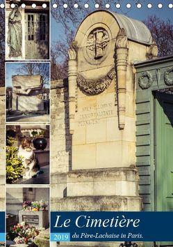 Le Cimetière du Père-Lachaise in Paris (Tischkalender 2019 DIN A5 hoch) von Creutzburg,  Jürgen