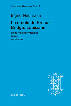 Le créole de Breaux Bridge, Louisiane von Neumann,  Ingrid