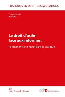 Le droit d'asile face aux réformes: von Amarelle,  Cesla