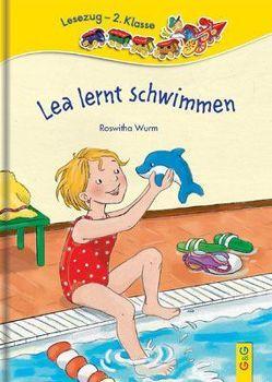 Lea lernt schwimmen von Broska,  Elke, Wurm,  Roswitha