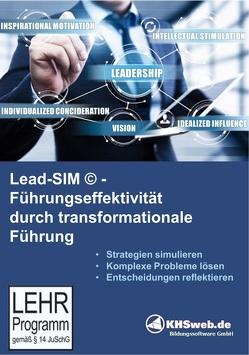 Lead-SIM© – Führungseffektivität durch transformationale Führung (CD-ROM) von Koeppe,  Gabriele