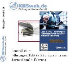 Lead-SIM© – Führungseffektivität durch transformationale Führung (USB) von Koeppe,  Gabriele