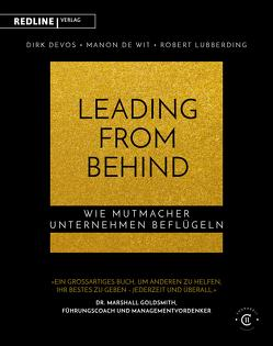 Leading from Behind von de Wit,  Manon, Devos,  Dirk, Lubberding,  Robert