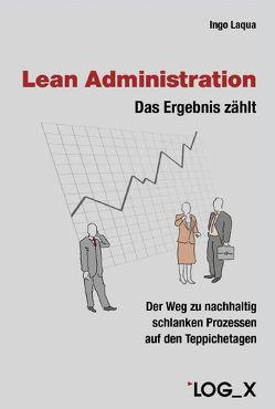Lean Administration von Laqua,  Ingo