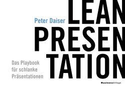 LEAN PRESENTATION von Peter,  Daiser