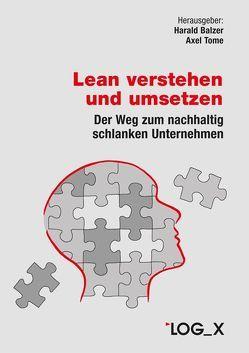 Lean verstehen und umsetzen von Balzer,  Harald, Tome,  Axel