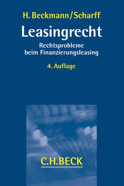 Leasingrecht von Beckmann,  Heiner, Scharff,  Uwe