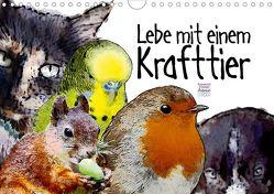 Lebe mit einem Krafttier voller Vertrauen (Wandkalender 2020 DIN A4 quer) von Ryzek,  Astrid