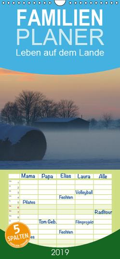 Leben auf dem Lande – Familienplaner hoch (Wandkalender 2019 , 21 cm x 45 cm, hoch) von kattobello