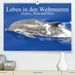Leben in den Weltmeeren. Delfine, Wale und Haie (Premium, hochwertiger DIN A2 Wandkalender 2020, Kunstdruck in Hochglanz) von Stanzer,  Elisabeth