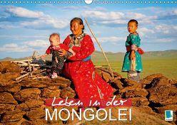Leben in der Mongolei (Wandkalender 2019 DIN A3 quer) von CALVENDO