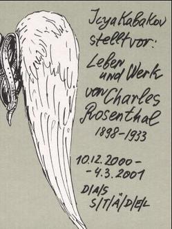 Leben und Werk von Charles Rosenthal (1898-1933) von Kabakov,  Ilya